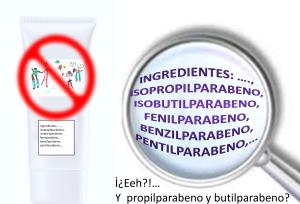 Prohibición de algunos parabenos en los productos cosméticos según la directiva europea y a la espera de la restricción de otros.